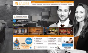 Redesign van Orange Wellnes Club <br />                                 Webdesign - HTML/CSS