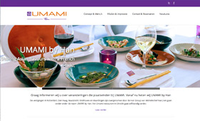 UMAMI by Han - New website - umami-restaurant.com <br />                                 Webdesign